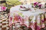 Rivoli scarlet tablecloth beauville