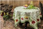 romarin coated tablecloth beauville