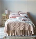 Marseille quilted coverlet
