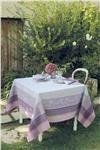 Faiences mauve french tablecloth garnier thiebaut
