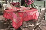 Rialto fuchsia tablecloth