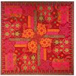 Rialto garnet red tablecloth
