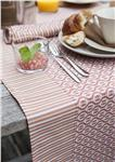 coated cotton table runner