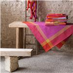 Pondichery sari French tablecloth