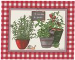 potager coated placemat by beauville
