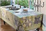 Rialto Lovat Green tablecloth
