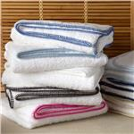 Whipstitch bath towels by Matouk