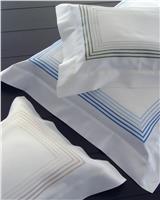 Milano blue king sheets