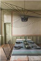 Bastide poivre grey cotton tablecloth