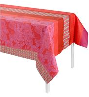 brooklyn pink coated tablecloth