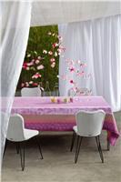 jardin de paradis glycine coated tablecloth