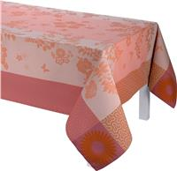 Asia Mood tea rose French tablecloth
