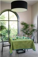 histoire natrelle moss green tablecloth