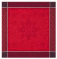 etoiles d hiver red napkin