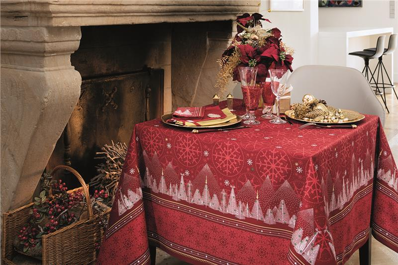 Megeve Table Linens By Beauville