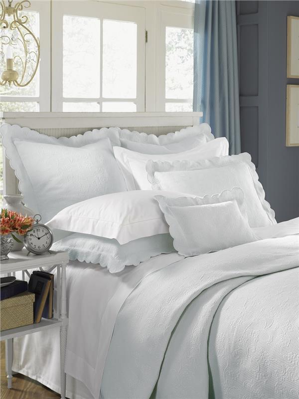 Alice Matelasse Bed Linens By Sferra