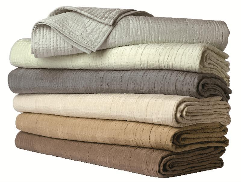 Gatsby silk coverlet by yves delorme for Yves delorme