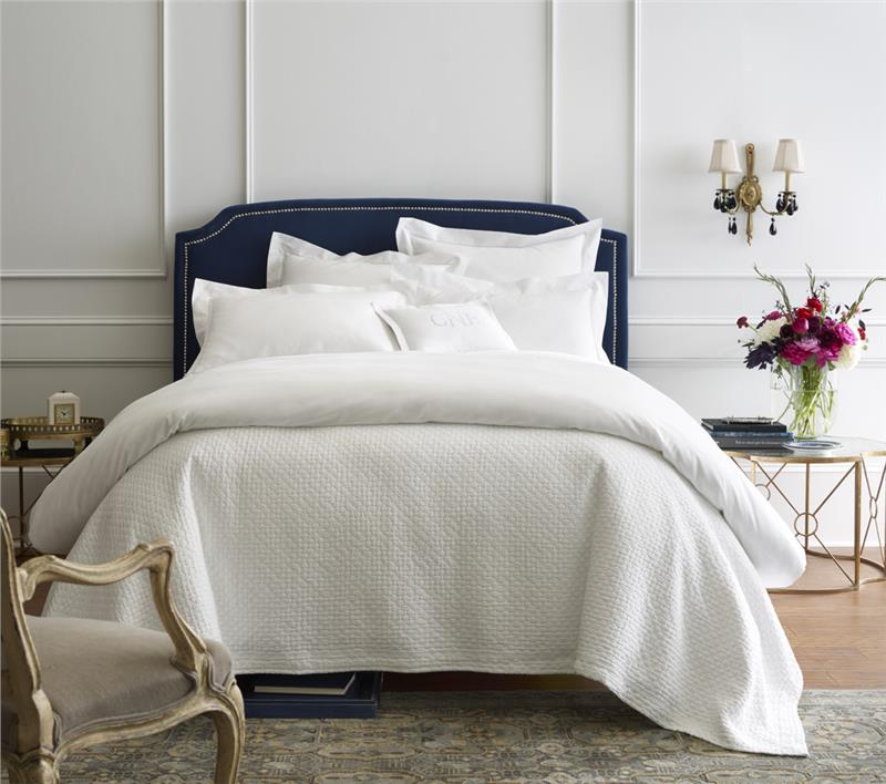 Juliet Matelasse Bed Coverlet And Pillow Shams By Peacock