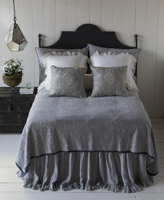 Adele Chenille Coverlet By Bella Notte