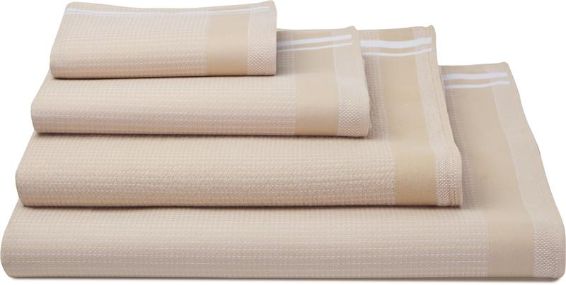 Duetto Camel For Waffle Weave Bath Towels By Le Jacquard