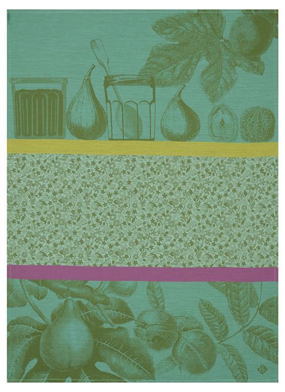Confiture And Fruits Du Verger Dishtowels By Le Jacquard
