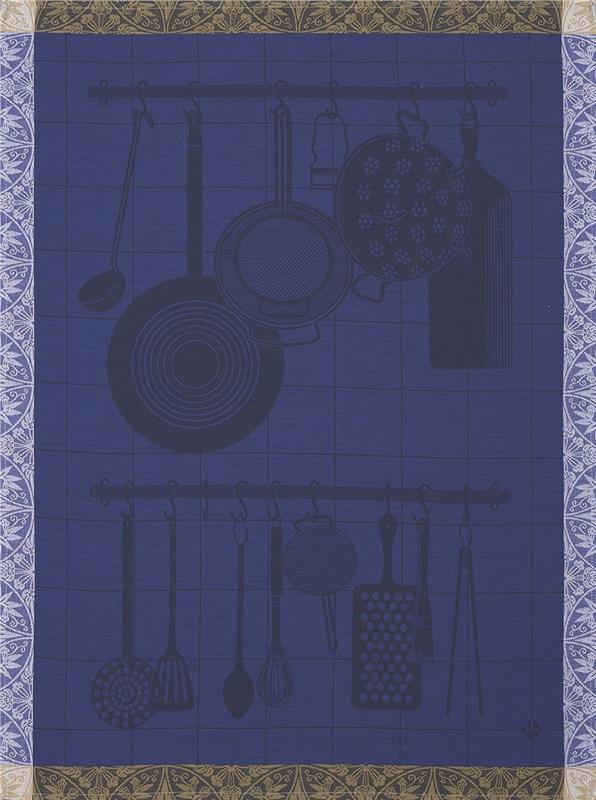 En Cuisine French Kitchen Towel By Le Jacquard Francais
