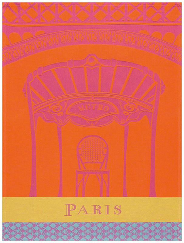 Paris Paris French Kitchen Towels By Le Jacquard Francais